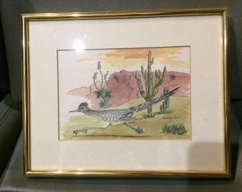 1970'S Tuscan artist Shirley Ewell signed original - in museums and as prints