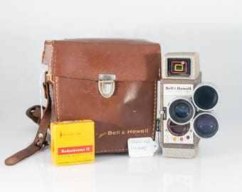 Bell & Howell Two-Fifty-Two 8mm Movie Camera