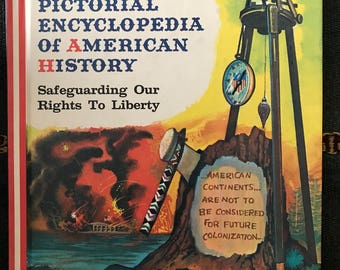 Pictorial Encyclopedia of American History 20 volume set, from 1450-1971