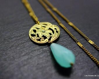 Bronze art deco pendant, art deco pendant