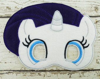 Rare Pony Children's Mask  - Costume - Theater - Dress Up - Halloween - Face Mask - Pretend Play - Party Favor