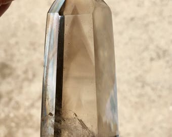 Smoky Quartz Point w/ Phantom / Grounding / Madagascar