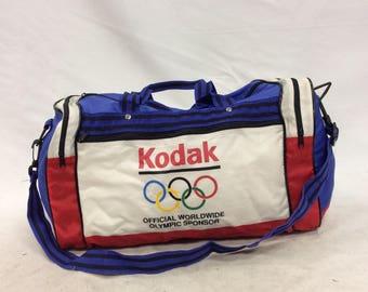 Vintage Kodak Olympic Duffle Bag