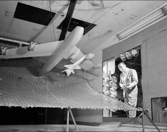 Poster, Many Sizes Available; Model Of The X-15, Langley Wind Tunnel 1958