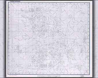Poster, Many Sizes Available; Cia Map Of Leningrad Saint Petersburg Russia 1971