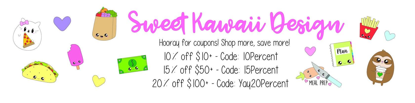 Sweet Kawaii Design van SweetKawaiiDesign op Etsy