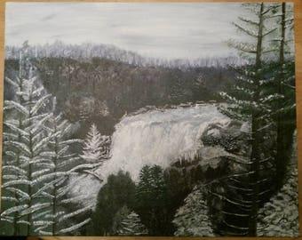 Custom Oil or Acrylic Landscape Painting 16x20 Art