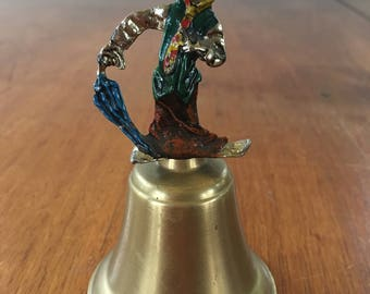 Superb Vintage Clown Brass Bell