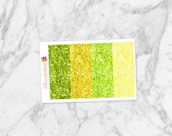 August Glitter Headers | For Erin Condren Life Planners, Happy Planners, Personal Planners & more! Kimmi's Studio