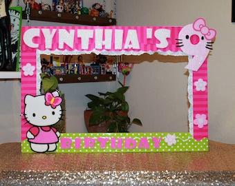 Hello Kitty Photo Frame Prop