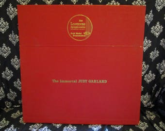 The Immortal Judy Garland 5 Album Record LP box set with single I could go on singing forever by Longines Symphonette