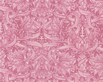 Pink Floral - Paris Spring Collection from David Textiles - 100% Cotton Fabric