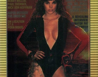 MATURE - Playboy Trading Card Chromium Cover Cards II - #155 March 1977