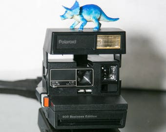 Clean Polaroid Business Edition Instant Camera - Tested, Good Condition #PJ3