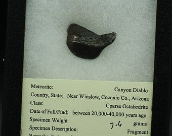 Canyon Diablo Meteorite, Arizona - Meteor Crater