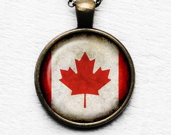 Canada Canadian Pendant & Necklace