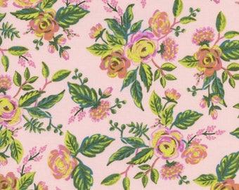 Menagerie by Rifle Paper Co for Cotton + Steel - Jardin De Paris Peony - Cotton Woven Fabric