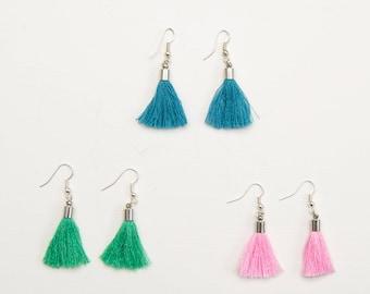 Tassle earrings | Tassel jewelry