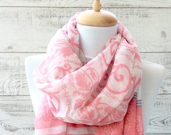 Pino paisley oversiz scarf women scarf fall scarf loop scarf chunky scarf infinity scarf gift idea for her