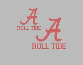 Alabama roll tide decal