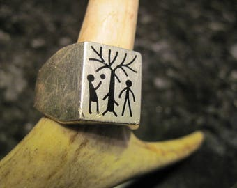 Adam and Eve Ring