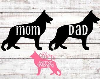 German Shepherd Dog Mom or Dad