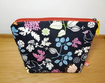 """Toilet bag weekend special printed """"A summer evening"""""""