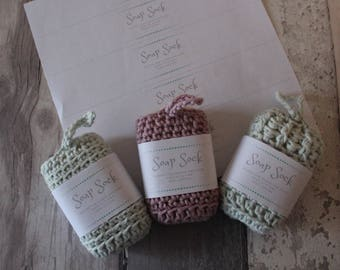 SOAP SAVER PACKAGING soap saver pdf packaging for your crochet soap socks soap cosy packaging