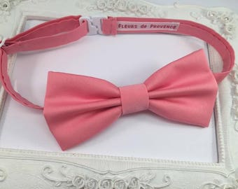 Pink Coral - man bow tie