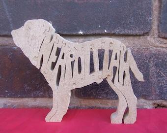 Neapolitan Mastiff, Neapolitan Mastiff gift, Neapolitan Mastiff jigsaw, Neapolitan Mastiff puzzle, Neapolitan Mastiff ornament,