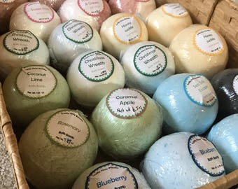 Ready To Ship Bath Bombs- Bath Fizzies - Bath Bomb- Fast Shipping