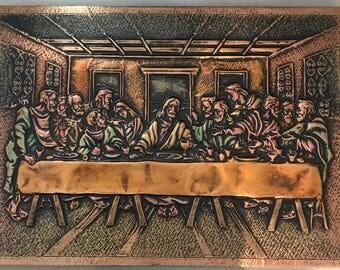 Wall Art - The Last Supper {Copper Small}