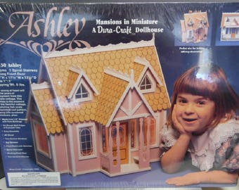 Dollhouse Kit, Ashley Mansions in Miniature #AH130