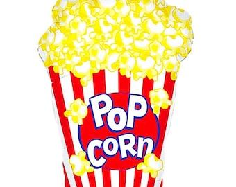 Jumbo Balloon, Popcorn Balloon, Popcorn, Large Balloon, Giant Balloon, Birthday, Party, Birthday Party,