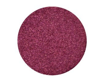 Fire Catcher, Pressed Pigment, Pink with Strong Burgundy Undertones, 26 mm pan, highly pigmented