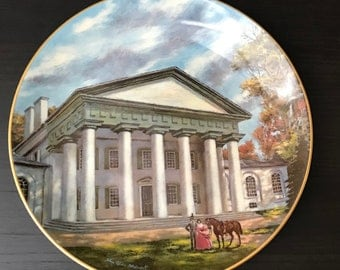 Custis-Lee Mansion Limited Edition Collectors Plate