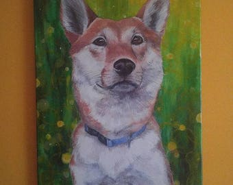 "Custom Pet Portrait, 16x20"""