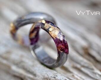 wood resin rings flower resin rings mens resin rings resin rings gold resin wood ring wood jewelry resin wood jewelry resin ring flower
