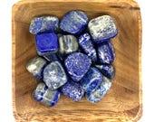 Lapis Lazuli Tumbled - Throat chakra - Reiki -Energy Healing - 5th Chakra