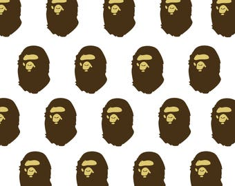 A BATHING APE POSTER Large A1 Bedroom poster
