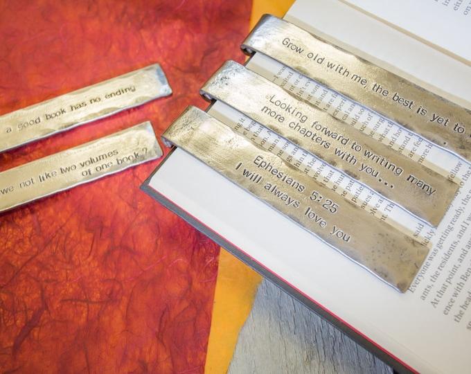 Sixth Anniversary Iron Bookmark
