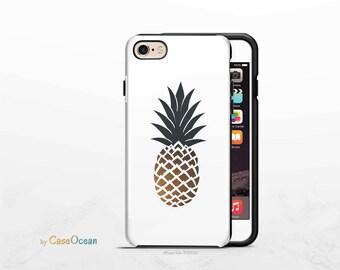 PINEAPPLE phone case, iPhone X 8 7 6 Plus phone case iPhone SE 5 5s phone case Samsung Galaxy S8 Plus S7 Edge S6 S4 S3 pineapple phone case