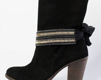 The New York Boot Wraps- Boot Bling   Boot Accessories   Boot Jewelry   Boot Wraps   Western Style   Country Chic   Boot Belle   Cowgirl