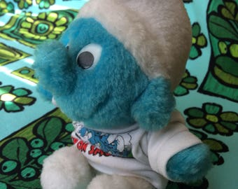 Plush Smurf