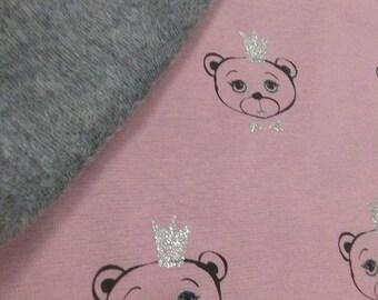 Fabric Sweatshirt Ositas Corona Glitter