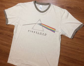 Pink Floyd rock band t shirt mens large 80s 90s rock n roll concert