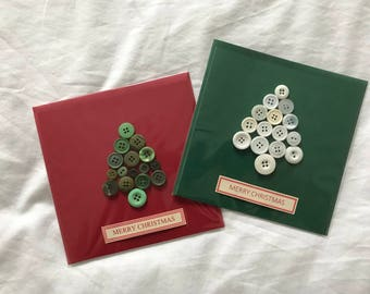 Two Christmas Tree Cards