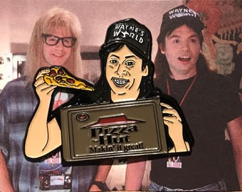 Wayne Campbell Enamel Pin Wayne's World