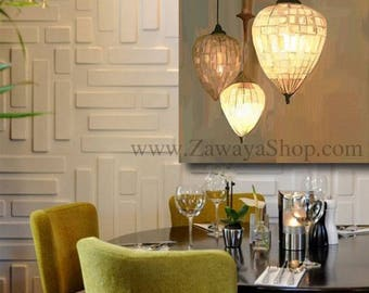 canvas wall art print neutral colors khaki golden off-white shades lighting features available in any size upon request