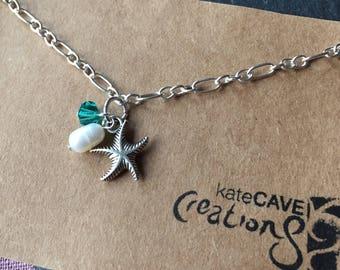 Starfish bracelet, Starfish gift, starfish jewellery, Stocking Filler